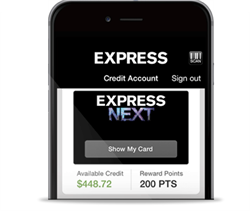 GPShopper Mobile Apps: Express' Digital Loyalty Card
