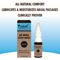 Nozoil® Nasal Spray for dry, itchy noses