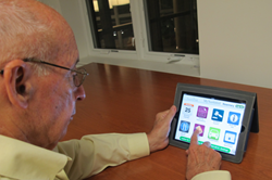 North Hill Resident Using Touchtown Resident Apps