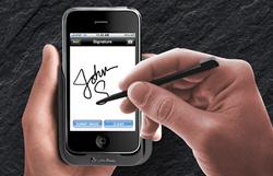 Bella FSM Electronic Signature Capture