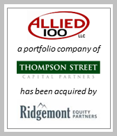 BlackArch Sale of Allied 100 to Ridgemont Equity Partners