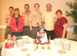 Eagle Scout recipient Bryceson Harvey and  his family