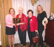 Recipients of the Distinguished Service Award Elks Ladies Auxiliary with December Storey and Tori Holmes.