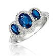 This beautiful gemstone ring is also part of the festive assortment.
