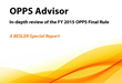 OPPS FY 2015 Final Rule analysis published by BESLER Consulting