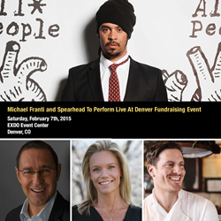 Michael Franti and Spearhead To Perform Live At Denver Fundraising Event