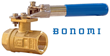 "Bonomi Low-Torque Full-Port Brass Ball Valves With ""Deadman"" Spring Return Handles Now Available In Both Regular And Lead-Free Models"
