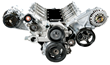 Summit Racing LS Front Drive Serpentine Kit with A/C, Power Steering Pump, and Alternator