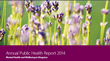 Annual public health report 2014 - Mental health and wellbeing in Kingston