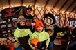 Campers getting warm and winning prizes at Sunburst Ski Resort