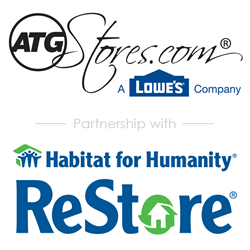 ATGStores.com to donate products with a retail value of $500,000 to Habitat for Humanity ReStores.