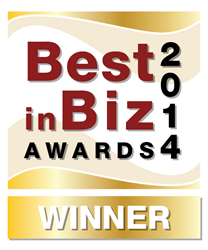 Best in Biz Awards Gold