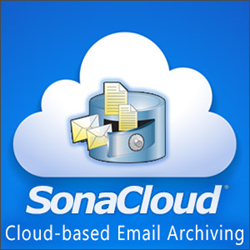 SonaCloud, Cloud-based Email Archiving