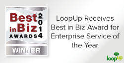 LoopUp Receives Best in Biz Award Enterprise Service of the Year