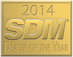 ADS Security is named 2014 Dealer of the Year