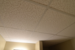 Before CeilingConnex Mission Ceiling Tiles