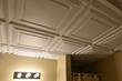 After CeilingConnex Mission Ceiling Tiles
