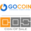 Coin Of Sale + GoCoin logo