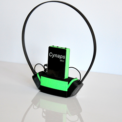 Cynaps Mint is the world's first 3D printed, bone conduction headset
