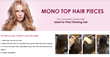 Mono Top Hair Pieces