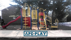 Cherry Vally multifamily community playground from APCPLAY