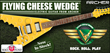 Unique Gift Idea for Any Green Bay Fan, the Cheese Wedge®...