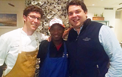 Leon Thomas awarded John Besh Foundation Scholarship