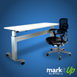 MarkIt Up as a sitting desk