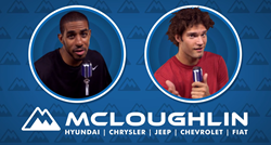 Portland Oregon McLoughlin Chrysler Jeep dealership feature LeMarcus Aldridge and Robin Lopez in extended YouTube video