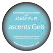 Photo of Sleep No. 91 Ascents® Gel
