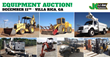 Public Auto and Equipment Auction, Atlanta, GA, December 11, 2014