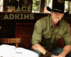 Trace Adkins LIVE at Cypress Bayou Casino Hotel on Saturday, February 14, 2015!