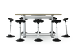 Ergo Expo, Standing Desk, Conference Table, War Room, Huddle Room, Co-Working Table