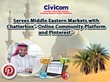 Civicom Serves Middle Eastern Markets with Chatterbox® Online...