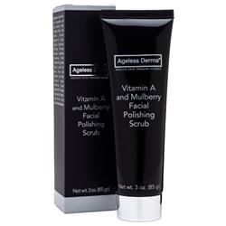 Ageless Derma Vitamin A and Mulberry Facial Polishing Scrub 3oz