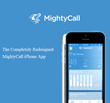 MightyCall Releases Its Beautifully Redesigned Mobile App for iOS 8