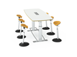 Ergo Expo, Standing Conference Table, Standing Height Conference Table, Collaboration Table,