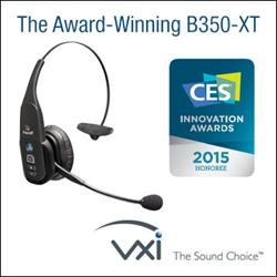 BlueParrott B350-XT 2015 CES Innovation Award