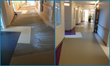 Alfred I. duPont Hospital for Children in Wilmington, DE, with flooring prepped with PENETRON Specialty Products.