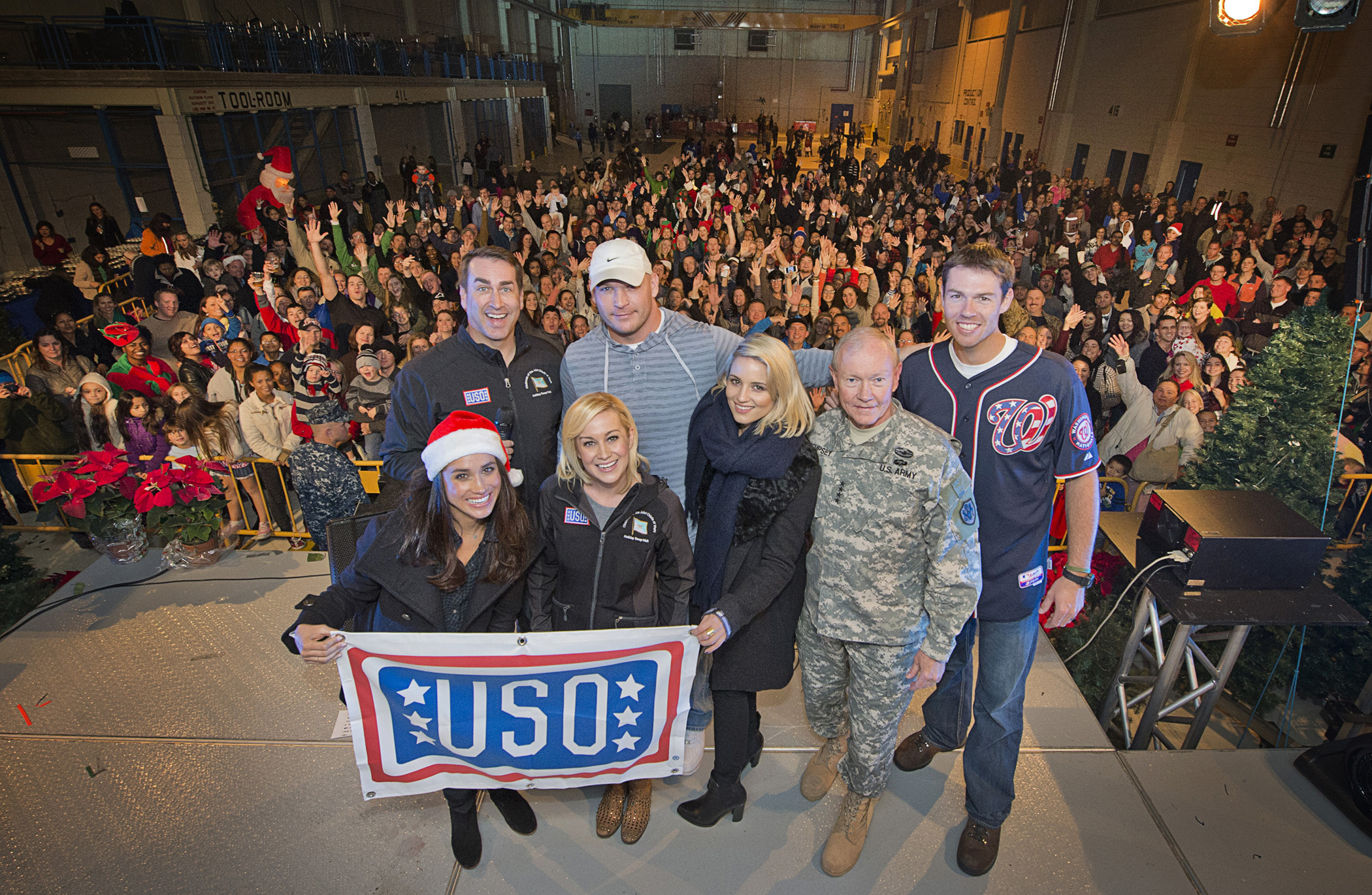 Martin Automotive Group >> General Martin Dempsey Brings USO Veteran Entertainers Kellie Pickler and Rob Riggle on His ...