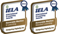 IELA International E-Learning Awards Designing Digitally