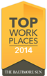 Nemetschek Vectorworks Named to The Baltimore Sun Top Workplaces List