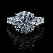 Diamond Antique Style 18k White Gold Engagement Ring Setting