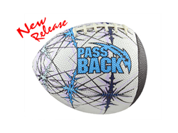 Designed for kids aged 5-8, Passback Sports' Pee-Wee Passback Football is the ideal football training aid for youth players who are learning how to throw and catch a football.
