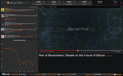 Decentral Talk Live is a daily show about bitcoin, blockchain technologies, and all things decentralized. It features an assortment of guest hosts and specialists in legal, accounting, security, and tech development from the Decentral space.
