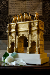Gilded Arch with print