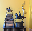 Group of Grand Tour Souvenirs with Figures