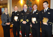 Crowley Awards Scholarships to Three USMMA Cadets at the 2014 Connie...