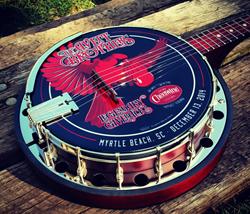 Deering Cheerwine Legendary Giveback III Banjo