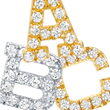 Oprah Winfrey Selects Red C Jewels' Diamond Initial Earrings for...